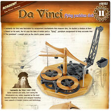 Academy Da Vinci Machines Series Flying Pendulum Clock Plastic Model Kit #18157