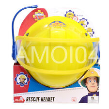 Fireman Sam Helmet with Visor & Mircophone, Boys Costume - Size 48-53cm *New