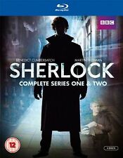SHERLOCK Complete BBC TV Bluray Collection Series 1+2+3+Extras Boxset HOLMES New