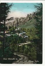 PIANI RESINELLI  con vista dell' albergo italia