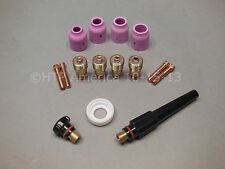 Stubby Gas Lens Kit Tig Welder Welding 17, 18, 26 Series Torches Made in USA
