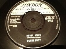 DUANE EDDY . BECAUSE THEY'RE YOUNG  / REBEL WALK 1960 LONDON Records U.K. Issue