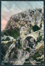 Imperia Grimaldi frontiera Foto FG cartolina C9036 SZA