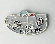CHEVROLET CHEVY CORVETTE 1953 CONVERTIBLE LAPEL PIN BADGE 1 INCH