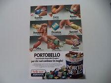 advertising Pubblicità 1978 PERUGINA SETTE SERE PORTOBELLO
