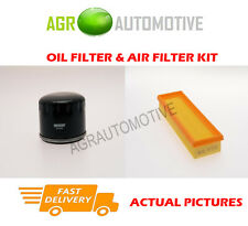 DIESEL SERVICE KIT OIL AIR FILTER FOR RENAULT SCENIC RX4 1.9 101 BHP 2002-03