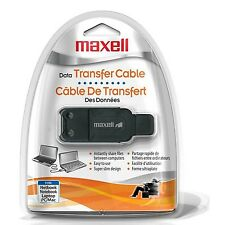 Maxell USB Data Transfer Cable File share between computers Free 2Day Shipping