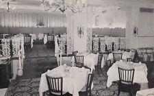 Postcard Carolina Room Oak Park Arms Hotel Oak Park IL
