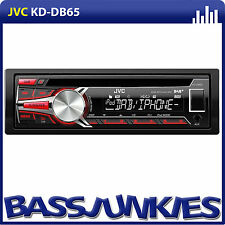 JVC KD-DB65 Car Stereo DAB Radio Single Din USB AUX iPod iPhone Android Player