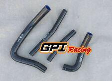 silicone radiator hose FOR Suzuki RM250 RM 250 1996 1997 1998 1999 2000 BLK
