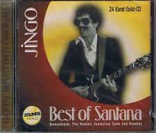 Santana Jingo (Best) 24 Carat Zounds Gold CD NEW Sealed