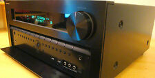 ONKYO tx-nr-809 Receiver high-end/AMPLIFICATORE 7.2/Black/si prega di leggere! #aac