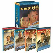 ROUTE 66 COMPLETE SEASONS DVD Set 116 Episodes Collection TV Series Show Lot Box