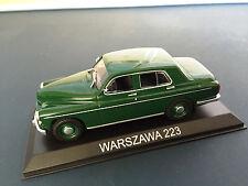 WARSZAWA 223  - 1:43  AUTO DIECAST IXO / IST LEGENDARY CAR /BA59