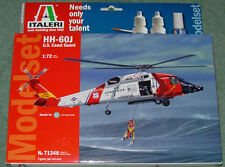 ITALERI HH-60J U.S. COAST GUARD HELICOPTER GIFT SET NEW MINT & SEALED 1/72
