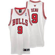 ADIDAS CHICAGO BULLS LUOL DENG #9 REPLICA BASKETBALL JERSEY YOUTH SMALL, WHITE