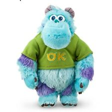 DISNEY STORE MU SULLEY MINI BEAN BAG PLUSH NWT OK OOZMA KAPPA FRATERNITY MEMBER