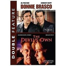 Donnie Brasco/The Devil's Own - Double Feature. free shipping