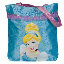 "Disney Princess Cinderella Shoulder girl Tote Bag Handbag Purse Bag 12"" BLUE NEW"