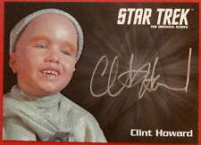 STAR TREK TOS 50th, CLINT HOWARD as Balok, VERY LIMITED (SILVER) Autograph Card