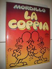 MORDILLO:LA COPPIA.ALBUM MONDADORI BIBLIOTECA UMORISTICA.1979 BELLISSIMO&qOTTIMO