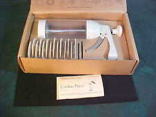 The Pampered Chef Cookie Press #1525 w/Box