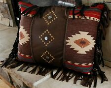 Cimarron 3 Diamond Pillow - Southwestern - Western Style Beautiful Detailing