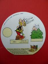 """Astérix / Uderzo - Personnage à monter vache GROSJEAN """"ASTERIX"""" 1993"""