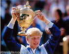 "Boris Becker - Colour 10""x 8"" Signed Wimbledon Win Tennis Photo - UACC RD223"