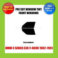 BMW 3 SERIES E30 2-DOOR 1982-1991 FRONT PRE CUT WINDOW TINT KIT