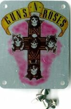 Guns N'Roses - 'Appetite Cross' Brassart Metal Patch with studs