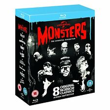 Universal Classic Monsters The Essential Collection BLU-RAY Box Set BRAND NEW