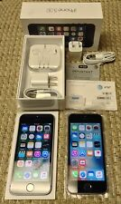 Lot of 2 Apple iPhone 5S's - 16GB  (AT&T unlocked) and 32GB (GSM/CDMA unlocked)