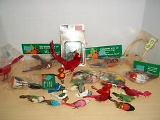 Lot 33 Vintage Miniature Birds Ornaments and Craft Supplies  Manor House, Dexter