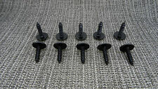 10x VOLKSWAGEN VW GOLF Metal Interior Body Screw Rivet Auto Trim Clips