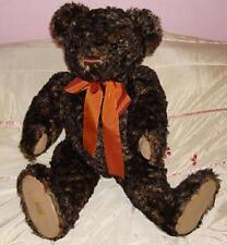 NEW LARGE MERRYTHOUGHT RARE TEDDY BEAR Cuddly  MORGAN  LTD Ideal Gift