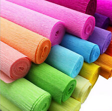 Crepe Paper Streamer Roll Wedding Birthday Party Supplies handmade champagne