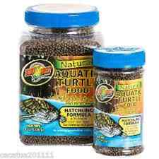 ZOO MED NATURAL AQUATIC TURTLE FOOD - HATCHLING 54g - NOW BACK IN STOCK