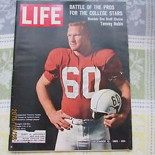 Vintage LIFE Magazine DECEMBER 10 1965-COLLEGE FOOTBALL