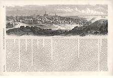 Vicksburg, Mississippi from the Hills in its Rear      -      Civil War