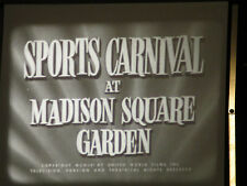 16mm 1952 Sports Show At Madison Square Garden / Assorted Sports 400ft B/W Sound