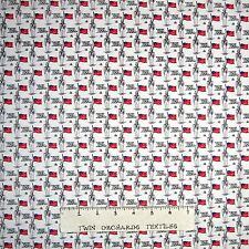 Americana Fabric - Soldier Canon Flag Calico - Mary Fons Small Wonders YARD