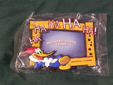 Looney Tunes Universal Studios Woody Woodpecker 3.5 x 4 photo frame Magnetic