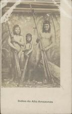 BRAZIL INDIOS DO ALTO AMAZONAS  REAL PHOTO