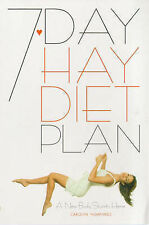 The 7-day Hay Diet Plan,ACCEPTABLE Book