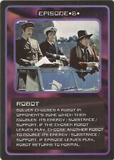 """Doctor Who MMG CCG - Episode """"Robot"""" Card"""