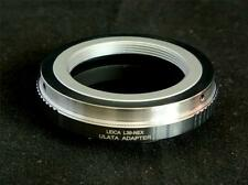Brass M39 L39 LTM Leica Screw Mount Lens to Sony NEX E Mount Adapter L39-NEX-C