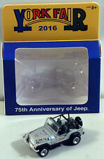 DTE 1:64 GREEN LIGHT 2016 YORK FAIR 75TH ANNIV JEEP NIOB