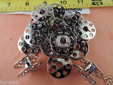 100pcs GAMMILL TIN LIZZIE QUILTERS MACHINE LARGE BOBBIN With WINDER HOLES