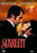 Scarlett - DVD - Timothy Dalton - Gone With The Wind Sequel - US Seller! New!